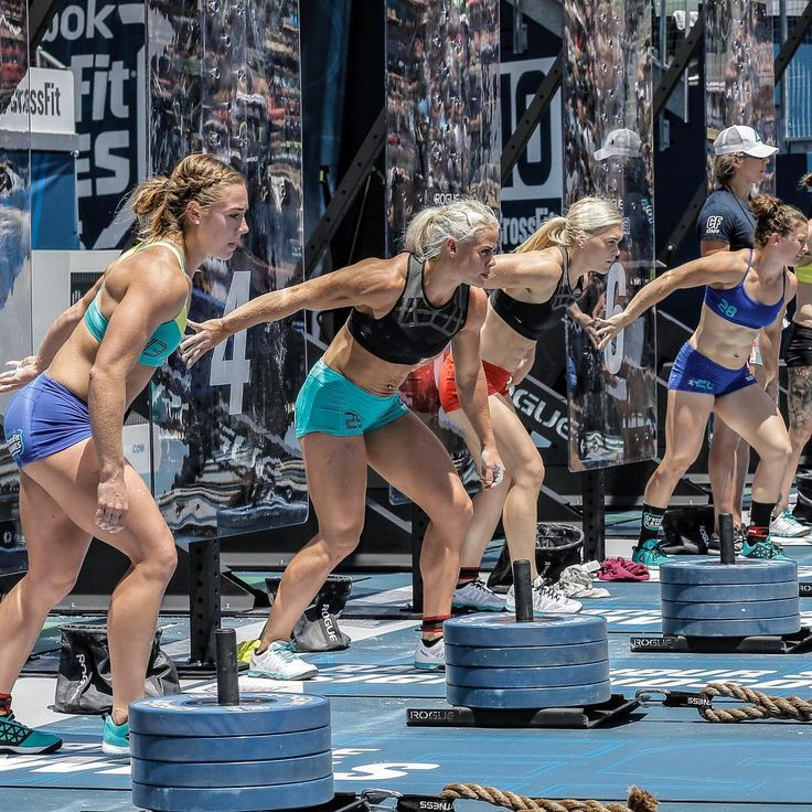 Brooke Wells, Sara Sigmundsdottir, Katrin Davidsdottir & Tia-Clair Toomey: 2016 CrossFit Games Rope Chipper