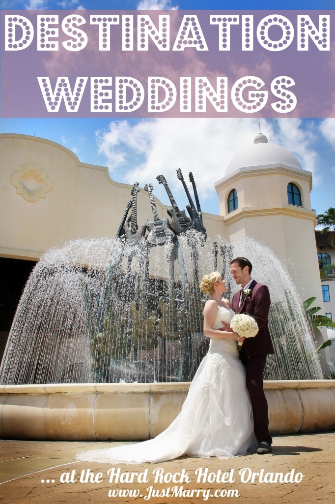 Destination Weddings In Orlando Hard Rock Hotel At Universal By Just Marry