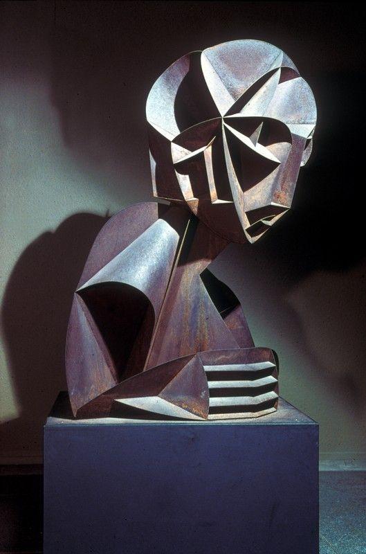 """Head No.2"" (1916), by Naum Gabo. Constructivism; Tate Gallery."