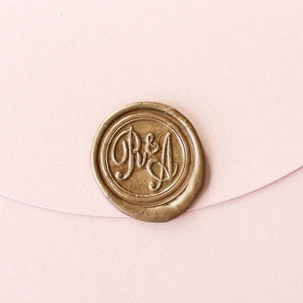 Custom Initials Wax Seal Stamp Personalized Wedding Seals Invitation