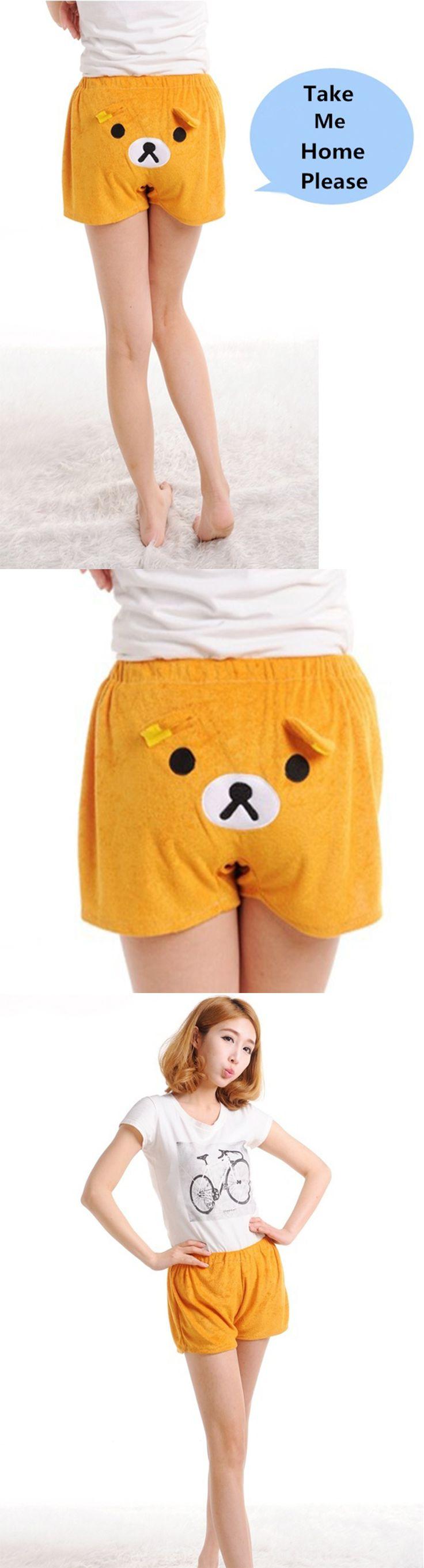 Super Cute Kawaii Women's Pyjamas Shorts New Cartoon Nightwear Loungewear Hot Pants