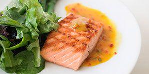 Salmon with Lemon-Ginger Sauce | Canadian Diabetes Association