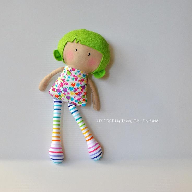 MY FIRST My Teeny Tiny Doll