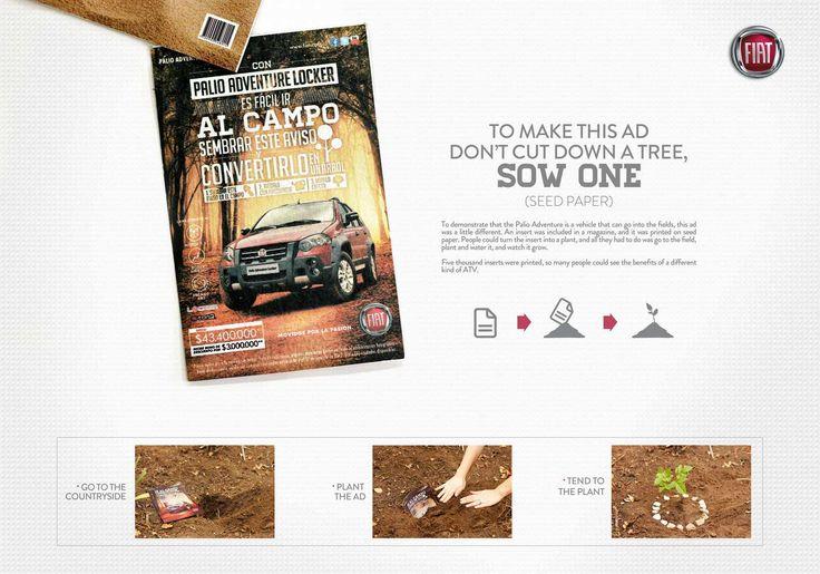 Fiat Palio Adventure: Seed paper