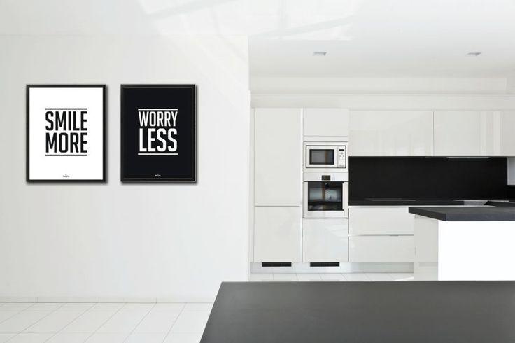 plakat black&white