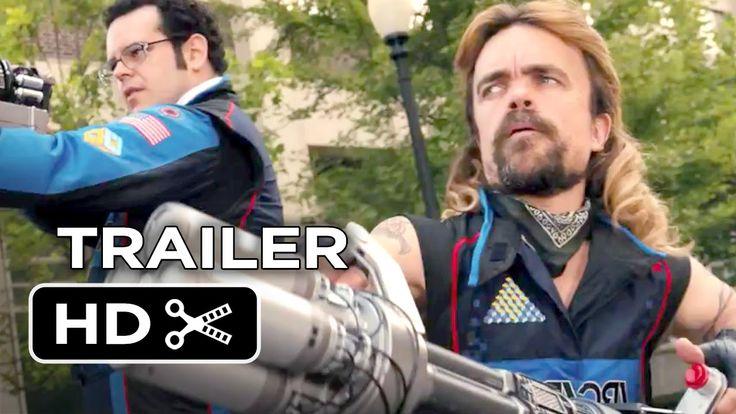 Pixels Official Trailer #2 (2015) - Adam Sandler, Peter Dinklage Movie HD
