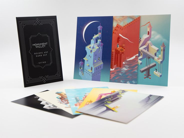 Monument Valley Deluxe Art Card Set by ustwo