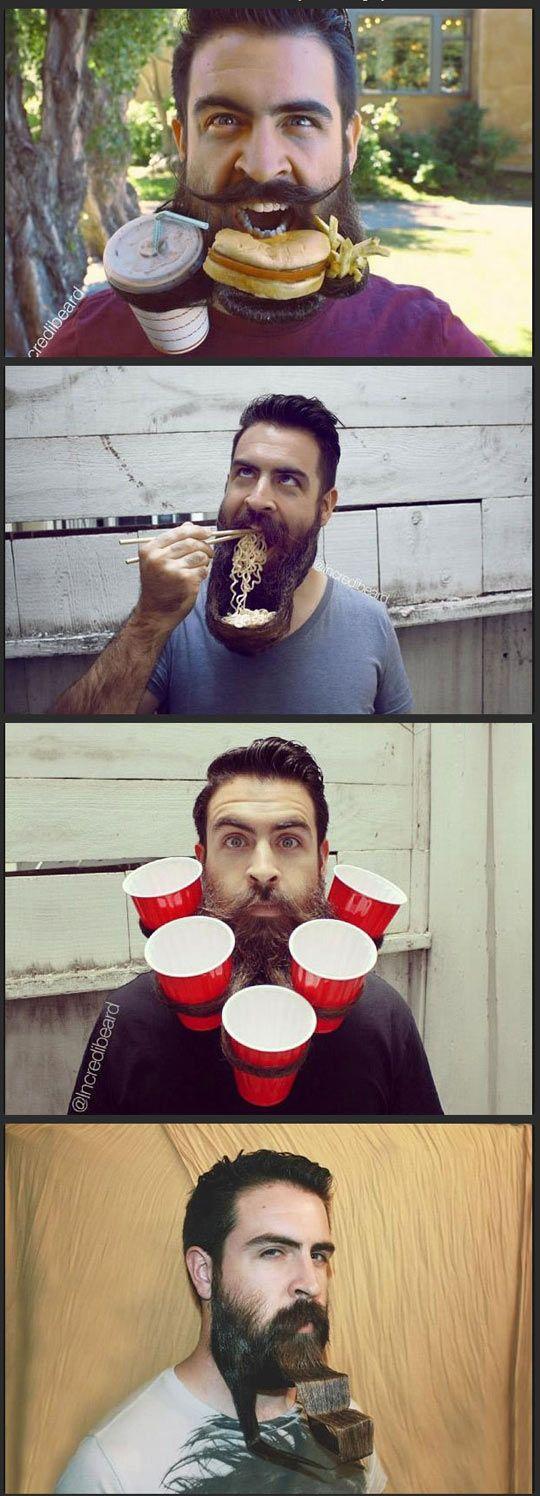 In honor of no shave November, I present crazy beard guy…