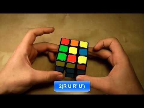 Πώς να λύσετε τον κύβο του Ρούμπικ Μέρος Ζ' - YouTube