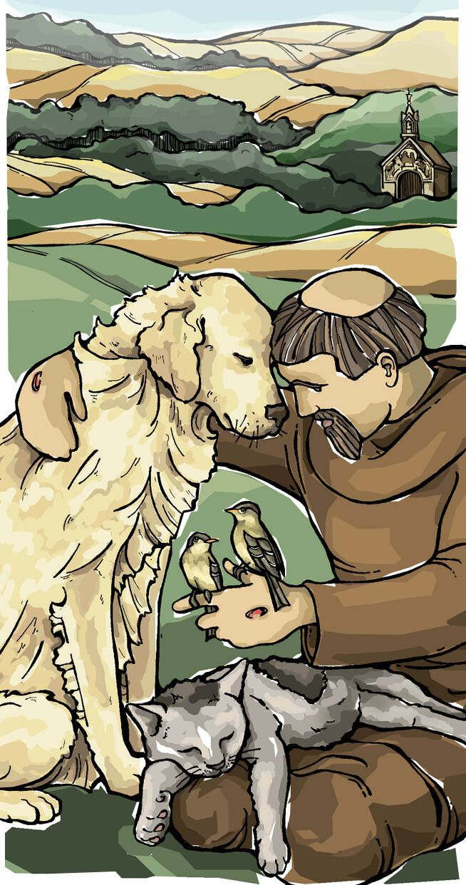 St. Francis of Assisi Prayer Card for Pets by TheSocietyofSaints on Etsy https://www.etsy.com/listing/111102858/st-francis-of-assisi-prayer-card-for