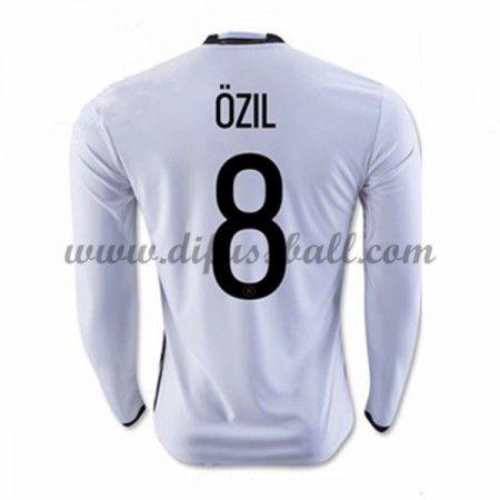 Nationaltrikot Deutschland 2016 Ozil 8 Langarm Heim Fußballtrikots