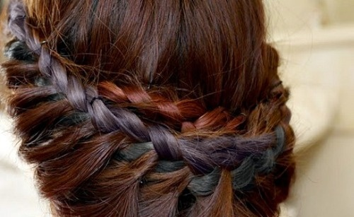 I want to learn this: Braided Updo, Princess, Hairstyles, Hair Styles, Hair Tutorial, Makeup, Braids, Beauty