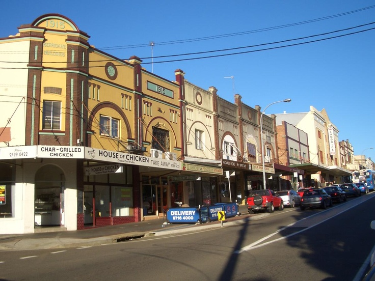 So this is one aspect of the shopping district of the suburb where I live. I love the federation style buildings and houses, and best of all I love the community feel to the area.
