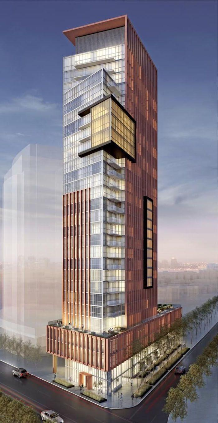 Edifício em 3D.