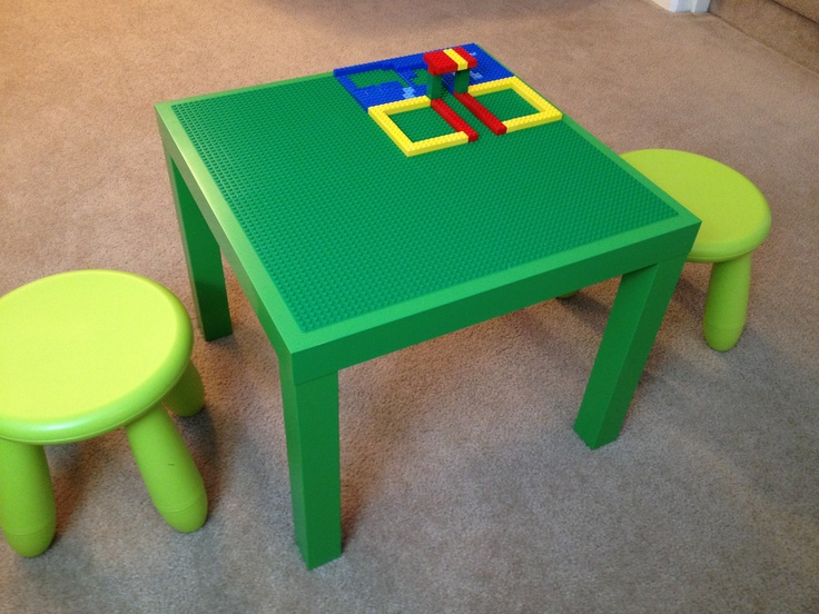 1000 images about ikea lack lego table hack on pinterest for Ikea green side table