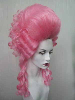 Pink Marie Antoinette style