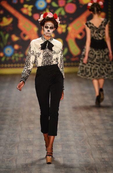 Lena Hoschek: Runway - Mercedes-Benz Fashion Week Spring/Summer 2013