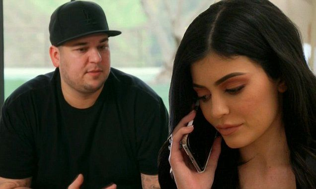 Kylie Jenner was furious with Rob Kardashian and on-off girlfriend Blac Chyna on Sunday's episode of Keeping Up With The Kardashians after they trashed her house.