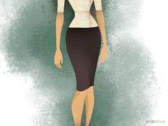 Aprende a vestirte si tienes figura de reloj de arena vía es.wikihow.com