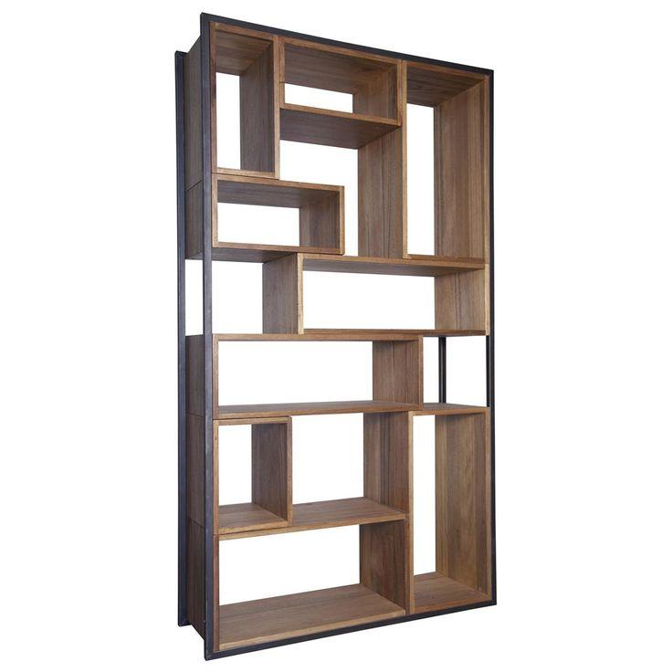 Noir Bauhaus Bookshelf @Zinc_Door | i n d u s t r i a l ...
