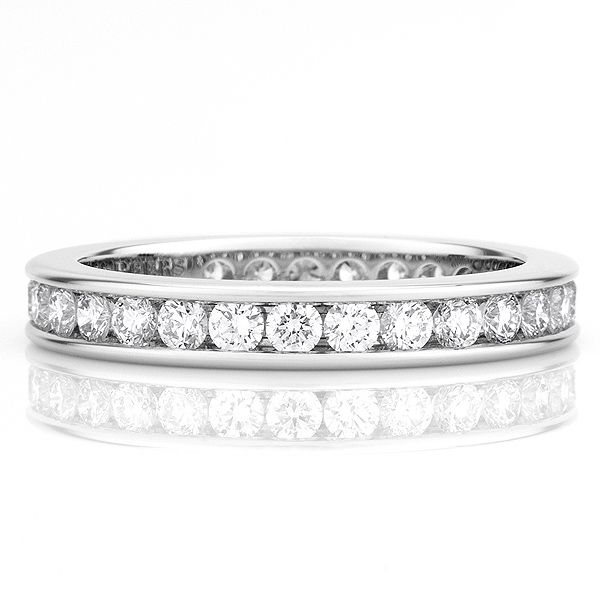 「3.0mm フルチャネルセット バンドリング」 デビアスの結婚指輪・マリッジリング一覧。