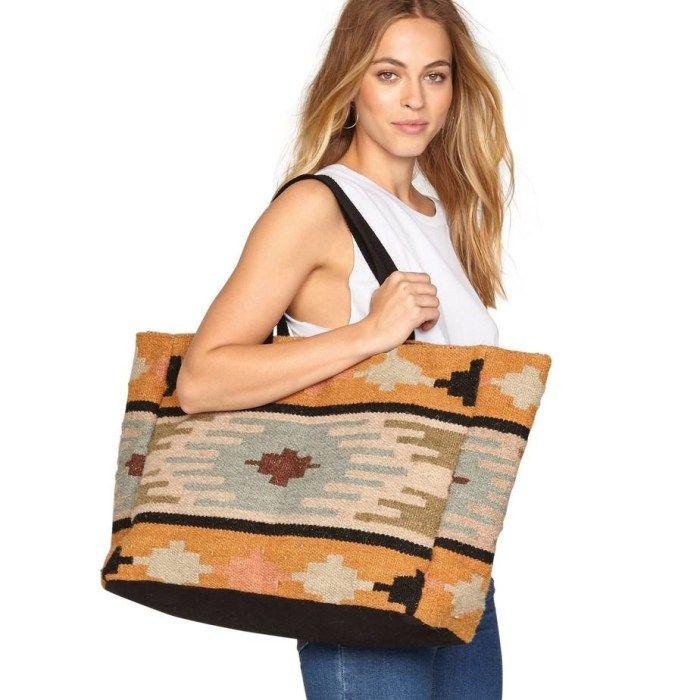 AMUSE SOCIETY Permanent Vacation Tote Bag