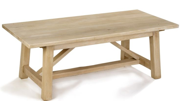 Oak Primitive Base Refectory Table