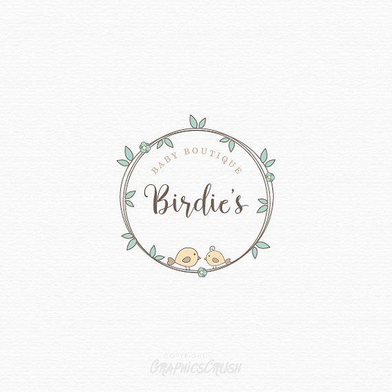 Organic Baby Boutique Logo OOAK Logo