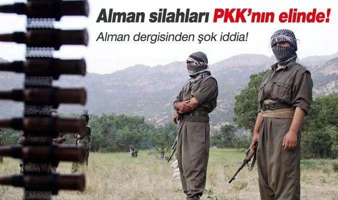 Alman Silahları PKKnın Eline Geçti  DAEŞ ile savaşta peşmergeyi MILAN füzeleriyle donatan Almanyanın silahları PKKnın eline geçti. Son saldırılar iddiaları doğruluyor.  PKKnın son zamanlarda zırhlı araçlara gerçekleştirdiği füze saldırılarında ağır hasar vermesi ve şehit sayısının artması üzerine güvenlik birimleri alarma geçti.  Alman dergisi Spiegelin yazdıklarına göre Almanyanın Peşmergelere gönderdiği silahlar PKKnın eline geçti.    Spiegel Gündeme Getirdi  DAEŞ ile savaşta Iraktaki…