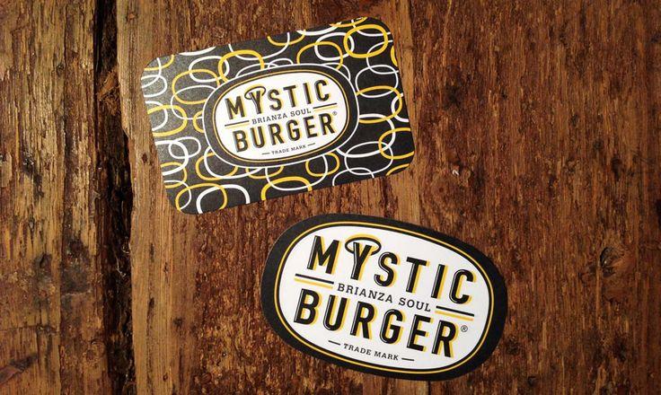 business card - biglietti da visita Mystic Burger MYB
