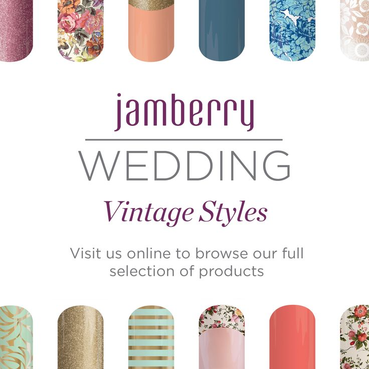 Are you getting married and want you and your bridesmaids to have their nails done? How about spending the evening doing your nails Jamberry Style! Order your favorite wraps ahead of time and then have all your ladies over for a manicure for your special day! It would be my pleasure to help you out.