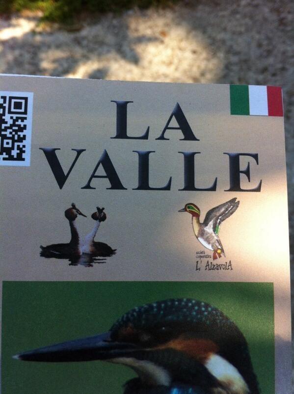 I'm at Oasi naturalistica La Valle (Magione) @apeindiana #AlTrasimeno