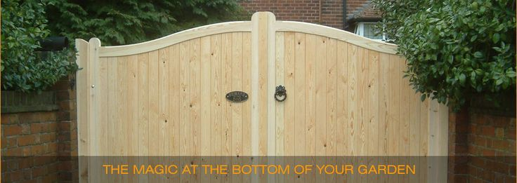 We, at Mitech Joinery offer you such gates made of wood in different designs.