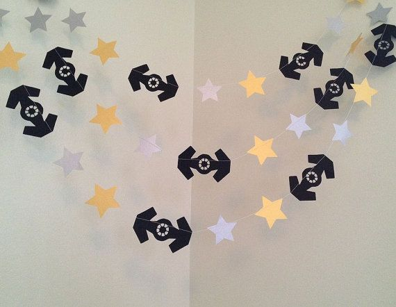 STAR WARS Inspired Birthday Party Decorations by ClassicBanners