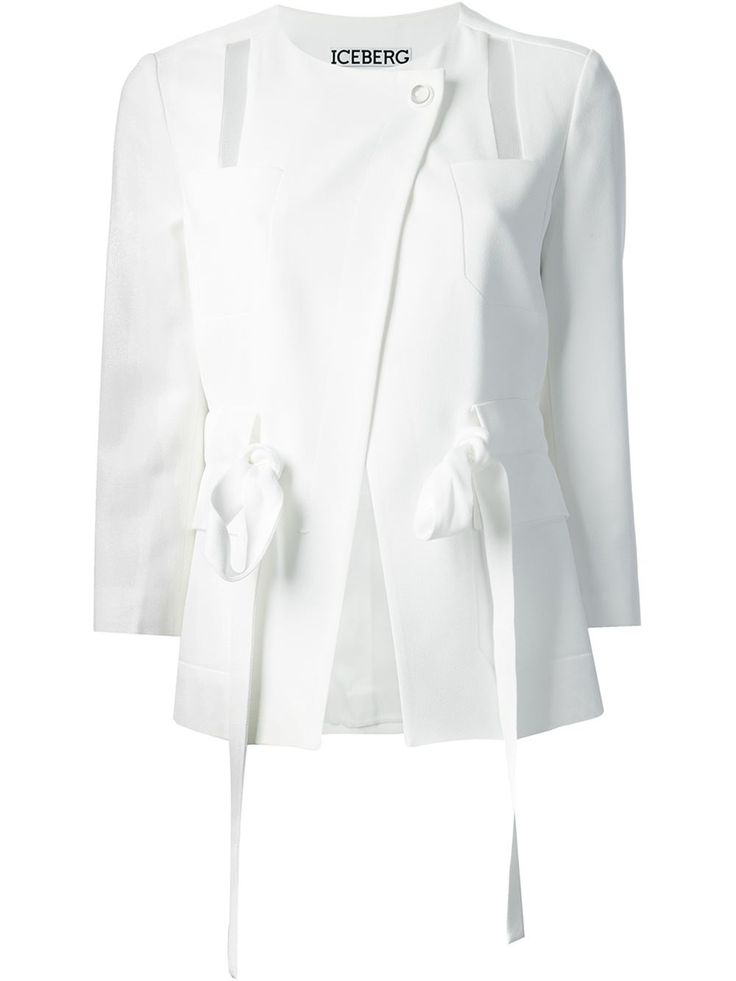 Iceberg Sheer Panel Jacket - Stefania Mode - Farfetch.com