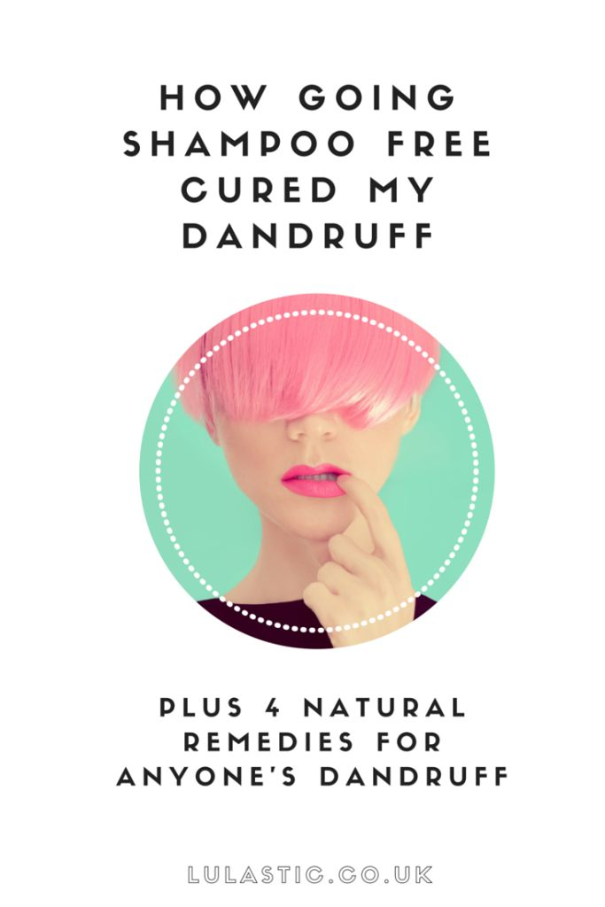 how to clear dandruff naturally