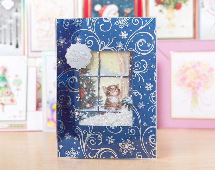 Gorgeous card made using the @hunkydorycrafts Little Book of Festive Furry Friends! / cardmaking / papercraft / scrapbooking / craft