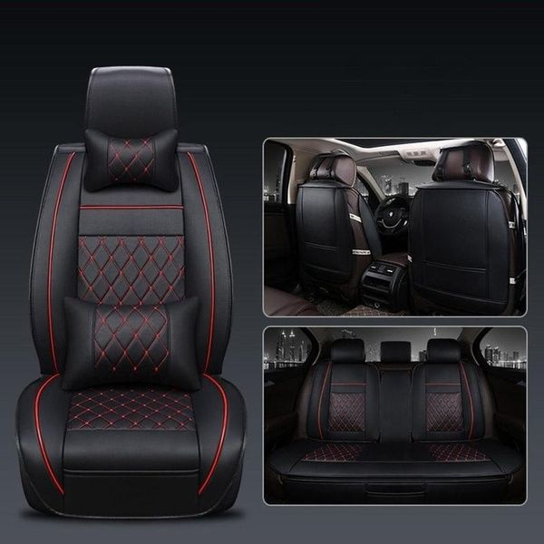 4colors Universal Pu Leather Car Seat Covers For Toyota Corolla Camry Rav4 Auris Prius Yalis Avensis Suv Auto Accessories Car Sticks Wish Leather Car Seat Covers Leather Car Seats Car Seats