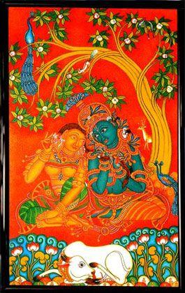 201 best art murals images on pinterest mural painting for Asha mural painting guruvayur
