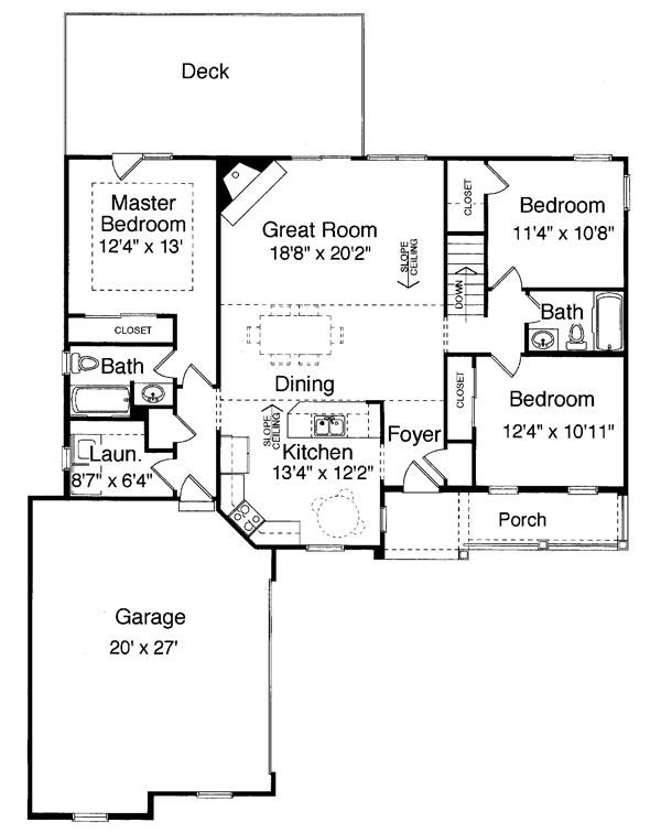 Foyer Closet Crossword : Best images about small house plans on pinterest