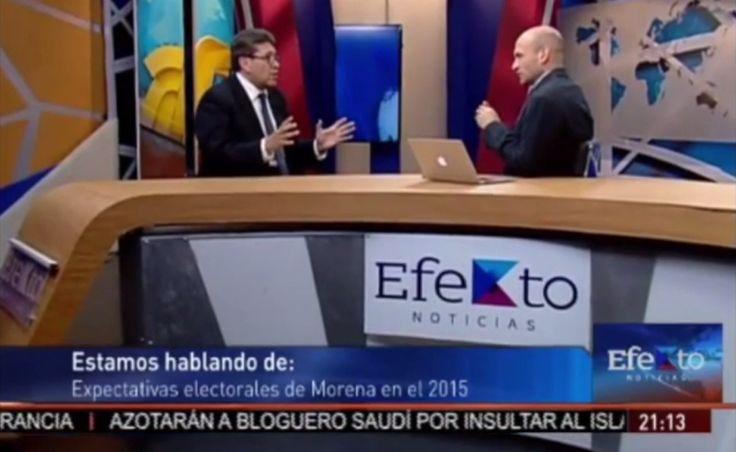 Aquí pueden ver la #entrevista que sostuvo #RicardoMonrealA anoche con Pedro Ferriz en #EfektoNoticias para hablar sobre el registro de la #precandidatura a la jefatura de la delegación #Cuauhtémoc por parte de #Morena.