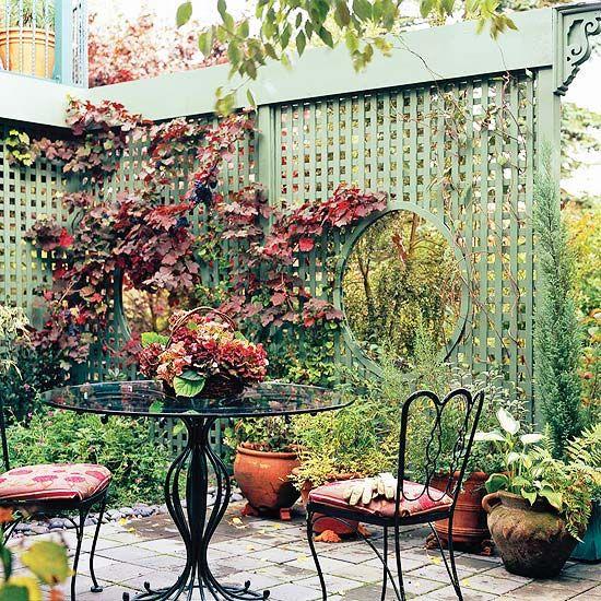 trellis: Trellis Design, Gardens Ideas, Outdoor Ideas, Privacy Screens, Cities Living, Landscape Ideas, Privacy Landscape, Gardens Tips, Dan Gardens