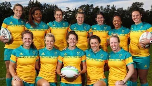 Resultado de imagem para australian women's rugby team olympics