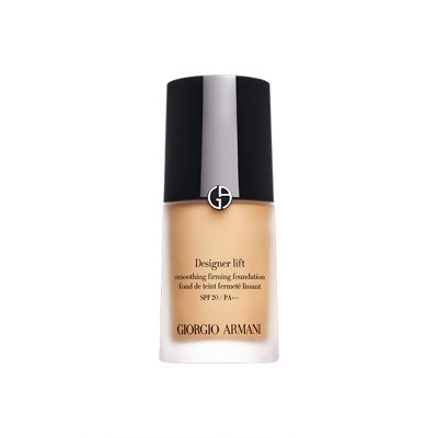 Giorgio Armani Designer Lift Foundation, a little bit more oily than the silk foundation so this is good for the winter when your skin is dryer.