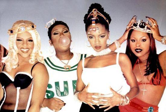 vibe lauryn hill missy lil kim | Lil Kim, Missy Elliott, Lauryn Hill and Foxy Brown appear in Vibe ...