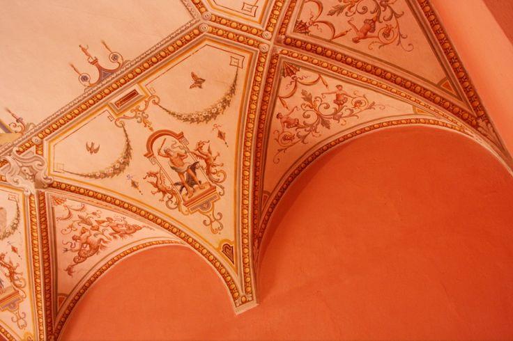 Le grottesche del Castello di Castelnovo Val Tidone PC