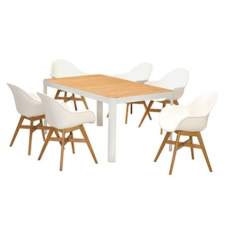 ADELPHI/BLAKE 7piece outdoor dining package