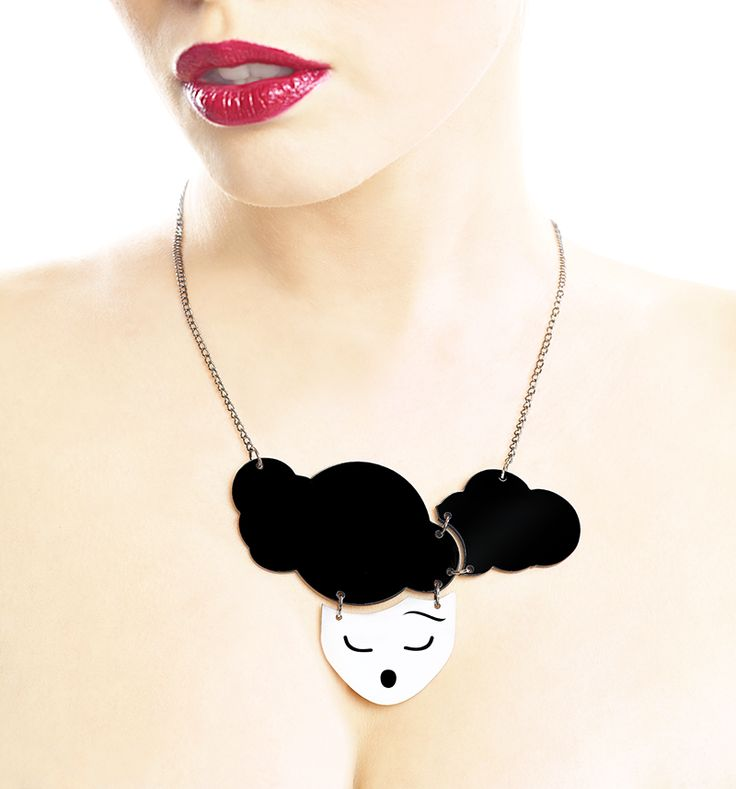 Head in the clouds Necklace via LIFE IN MONO. Click on the image to see more!