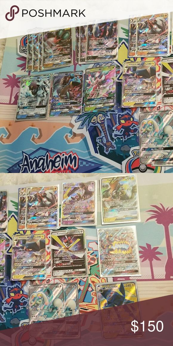 Pokemon Card EX GX Each card has a diffrent price or all for $150 Pokemon Other