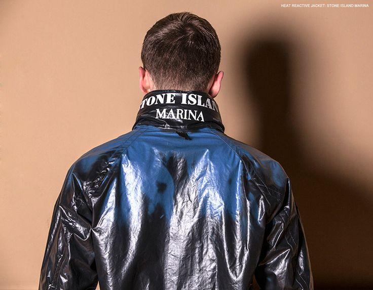 The heat reactive Stone Island Marina jacket